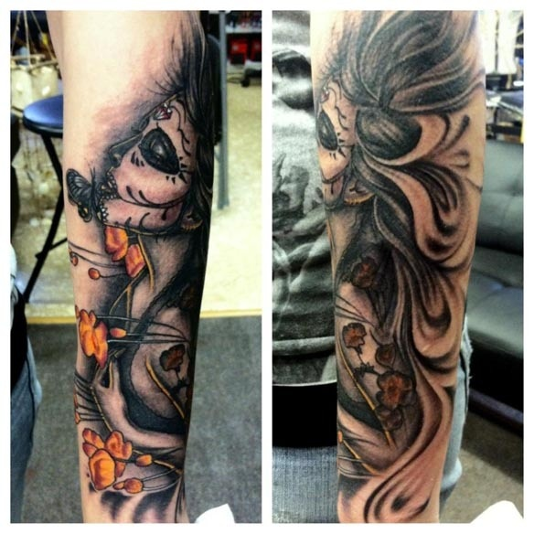 Tattoo completed by Nick D'Angelo