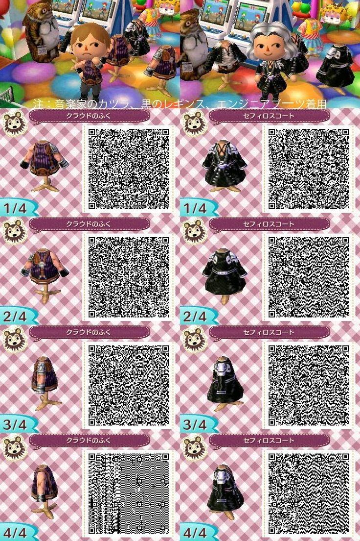 Leather jacket qr code new leaf - Animal Crossing Qr Codes