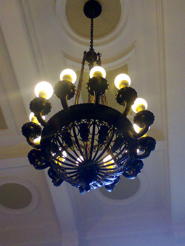 Candeeiro do Grande Hotel da Curia, Portugal