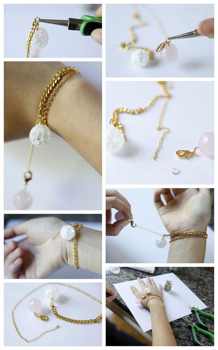 diy Como hacer Bisuteria basicaAs Do, Diy Como, Bisuteria Basica, Diy Jewellery, Diy Bracelets, Bracelets Diy, Jewelry Basic, Basica Tutoriales, Hacer Bisuteria