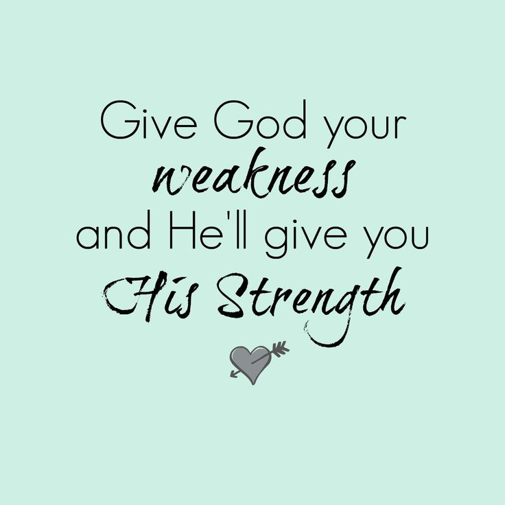 God Strength Quotes: God's Sustaining Power