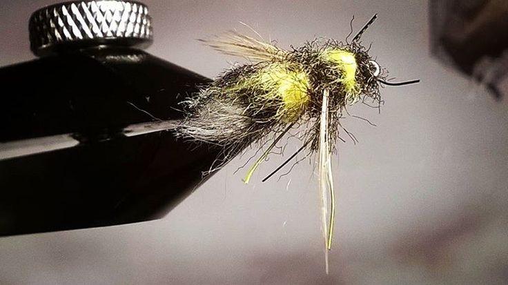 """20 Likes, 2 Comments - Jyri Tuominen (@jykkeka.t) on Instagram: """"Kimalainen #flytying #flyfishing #perhosidonta #perhokalastus"""""""