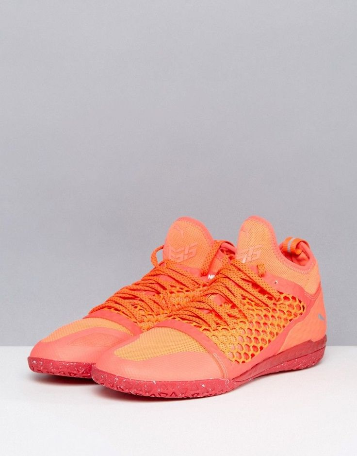 Puma IGNITE 365 Netfit Astro Turf Soccer Boots In Orange 10447301 - Or