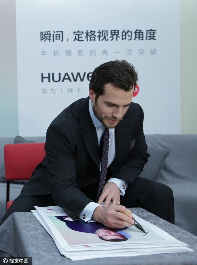 Henry Cavill News: Huawei Promo: New Photos & Interviews From Shanghai