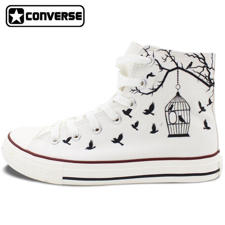 Zapatos blancos Converse All Star Hi para mujer HaimGE