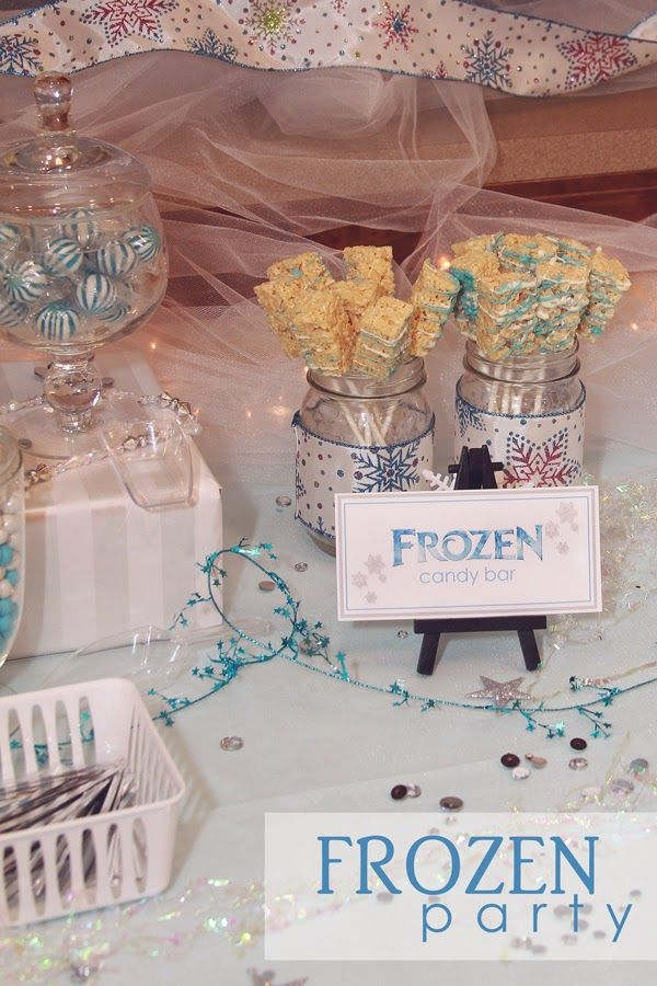 sugar bean bakers frozen bridal shower - Frozen Halloween Decorations