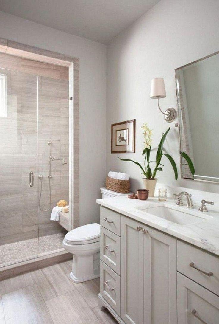 57 Affordable Modern Farmhouse Bathroom Remodel Ideas Modernbathroomremodel Modernfarm Guest Bathroom Small Bathroom Design Inspiration Small Master Bathroom