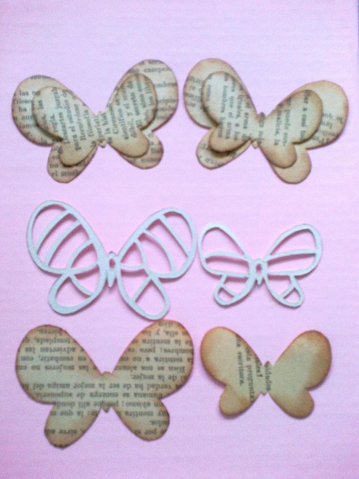 mariposas y los moldes
