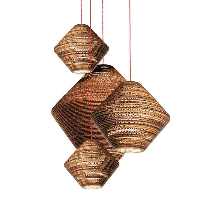 vom basteln mit pappe zum exzellenten lichtdesign 42 inspirative deko ideen beleuchtung. Black Bedroom Furniture Sets. Home Design Ideas