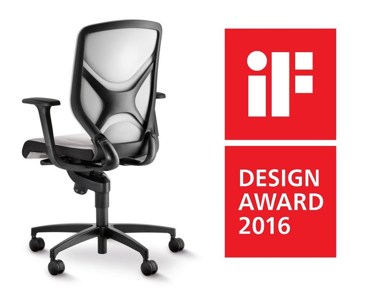 IN office chair red Winner of IF Design Award By Wilkhahn wilkhahnIN IN Ergonomic office chair with Trimension Pinterest