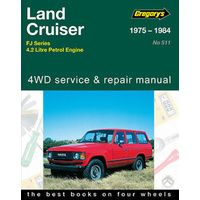 Toyota Landcruiser FJ40, 45, 55 & 65 from 1975-1984 with MPN GAP05511
