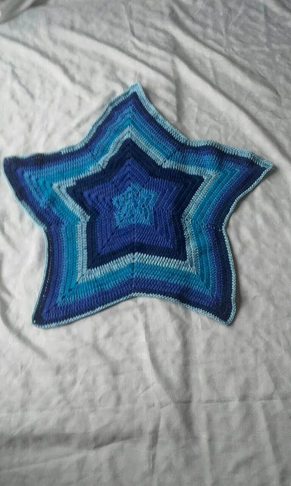 Check out this item in my Etsy shop https://www.etsy.com/uk/listing/510248668/star-blanket-crochet-baby-blanket-boy