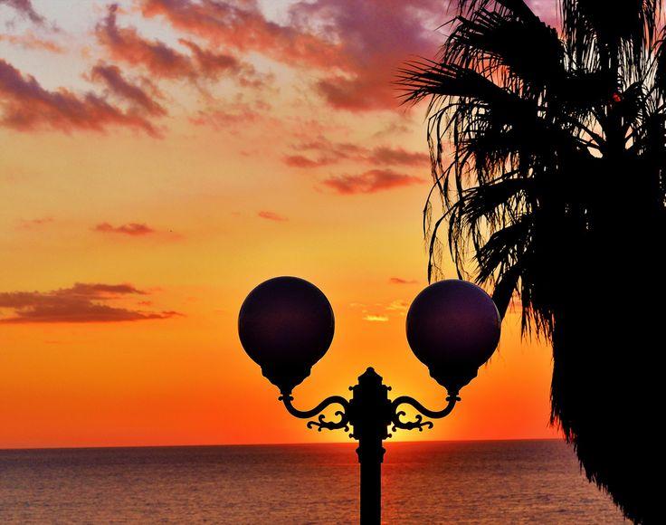#Ischia--Sonnenuntergang auf Hotel Terme Providence #Forio #ProvidenceItaly #iloveischia