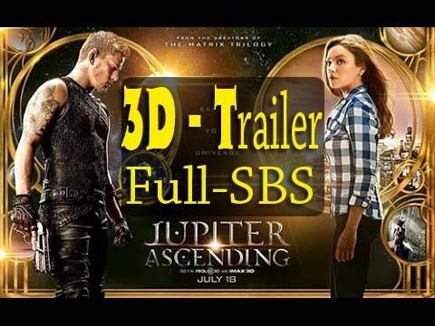 STEREOSCOPY :: Jupiter Ascending in 3D 2015 - Plot Details and TRAILERS in 3D