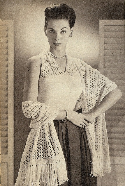 Vintage knitting patterns collection.