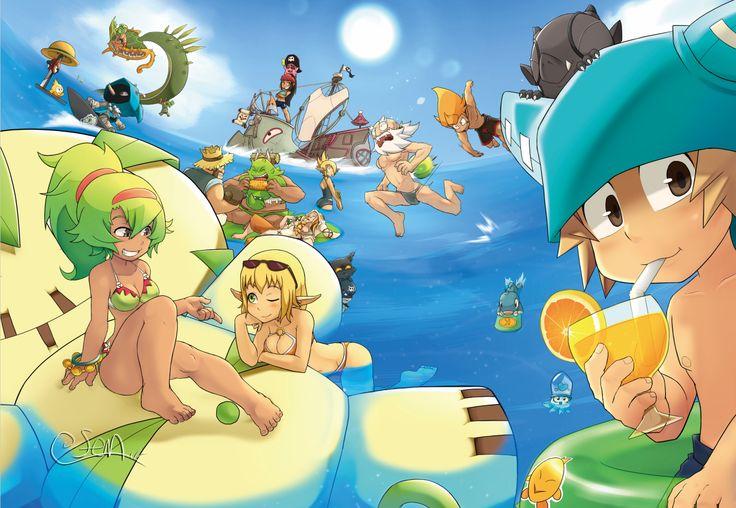 Anime Wakfu  Rubilax (Wakfu) Ruel Stroud Evangelyne (Wakfu) Tristepin (Wakfu) Tofu (Wakfu) Amalia Sheran Sharm Yugo (Wakfu) Wallpaper