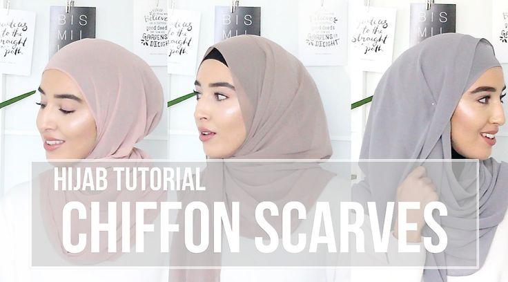 HIJAB TUTORIAL | Chiffon Scarves | Fashionwithfaith