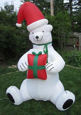 polar bear christmas yard decorations tyres2c - Outdoor Polar Bear Christmas Decorations