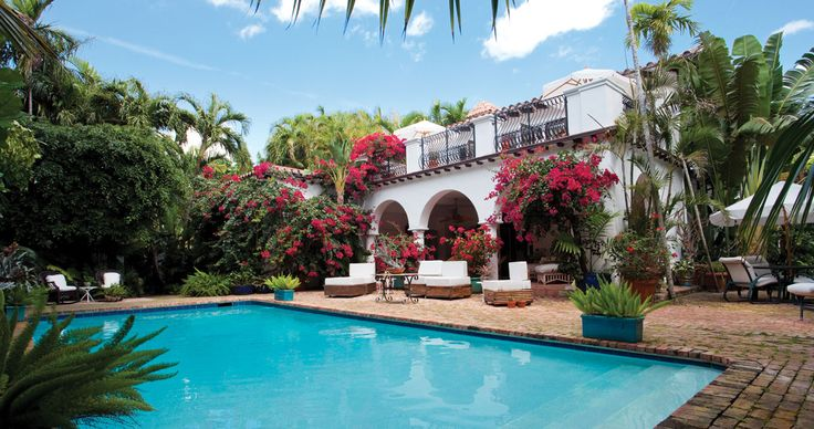 One Couple Imbues Their Miami Beach Home With Tropical Glamour Inside And Out