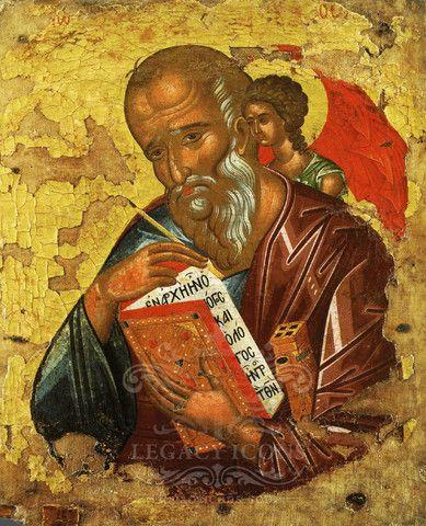 Апостол Иоанн Богослов (XVc) значок - S169