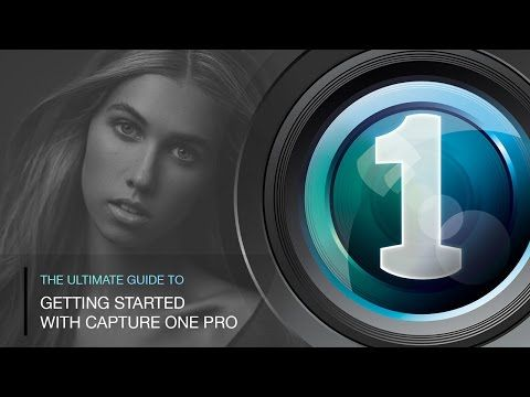 The Ultimate Guide to Getting Started with Phase One Capture One Pro - YouTube