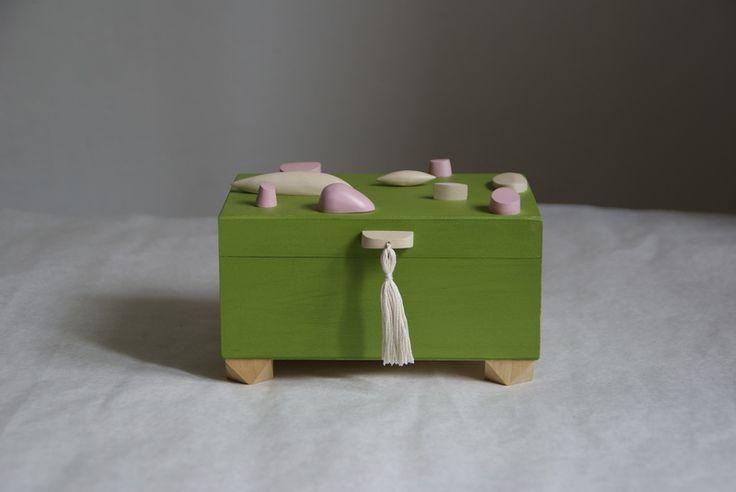 Zielona szkatułka w SZLIFY na DaWanda.com