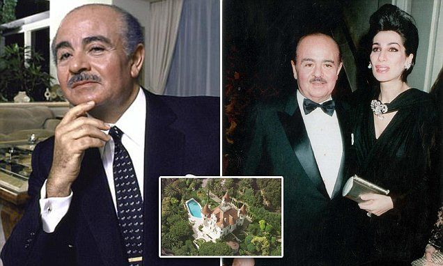 Saudi arms dealer Adnan Khashoggi died today aged 82 after battling Parkinson's. He most famously brokered arms dealsbetween US firms and the Kingdom of Saudi Arabia in the 1960s.