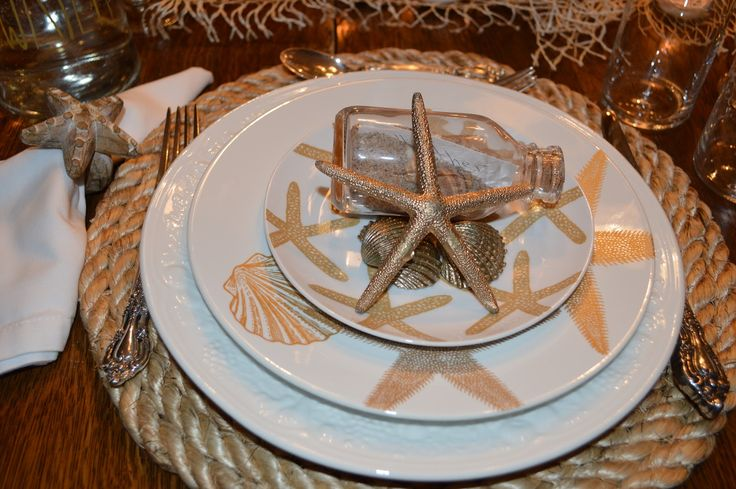 Do you want to give some beach or nautical accent in your house? If you do, seashell dinner plates  can be item which you can put in ...