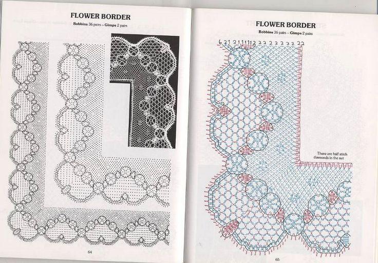 Cook, B. - Introduction to bobbins laces patterns tonder mb - lini diaz - Picasa…