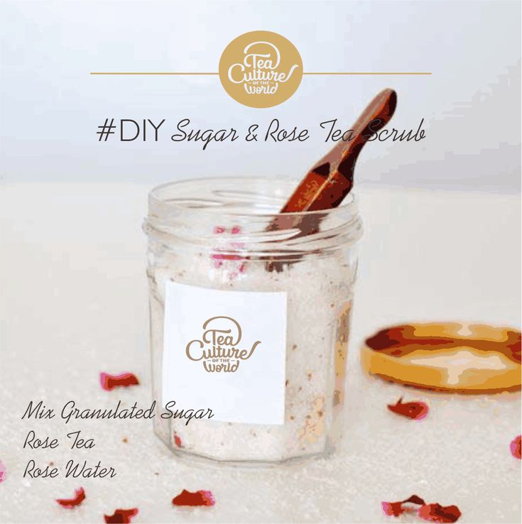 Dry skin troubling you? Get rid of the flakes with this simple #diy scrub recipe.The Rose is sure to refresh your skin and keep it cool in this heat.