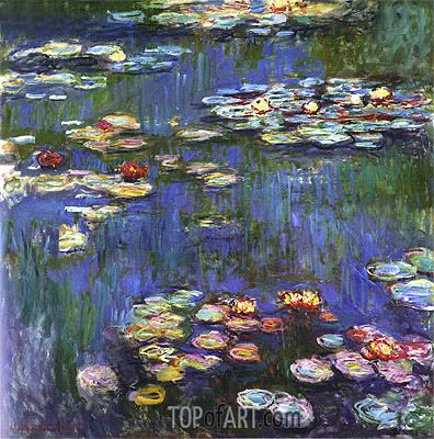 Water Lilies,1916 | Monet | National Museum of Western Art Tokyo Japan
