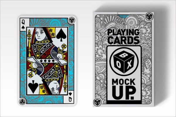 Playing Card Design Template New 31 Playing Cards Mockups Free Psd Designs Playing Cards Design Card Design Design Template