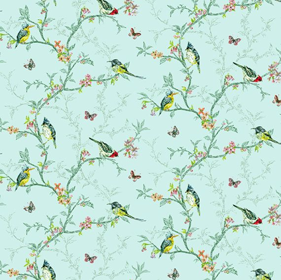 Dolls House Wallpaper 1/12th Or 1/24th Scale Birds Quality