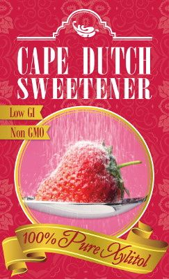Cape Dutch Sweetener 100% PURE XYLITOL #xylitol #purexylitol #sweetener