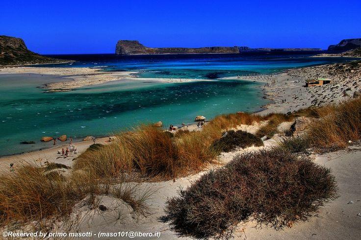 """""""Balos - Isola di Creta - Greece  by primo masotti, via 500px."""