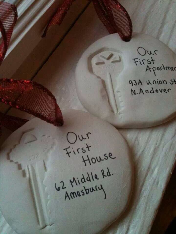 Christmas Decorations to remember where you've lived!