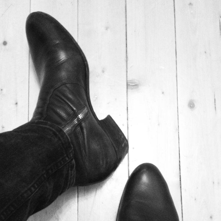 Everyday Hero Shoes - Zimmerman zip boots Men´s cuban heel leather boots www.everydayhero.se