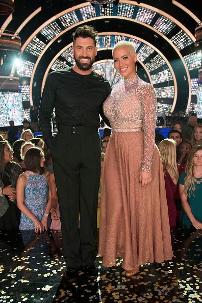 Amber Rose and Maksim Chmerkovskiy looked amazing at the Dancing with the Stars premier.