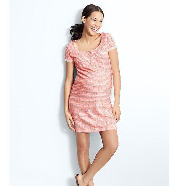 Vêtement léger de grossesse : robe Gap