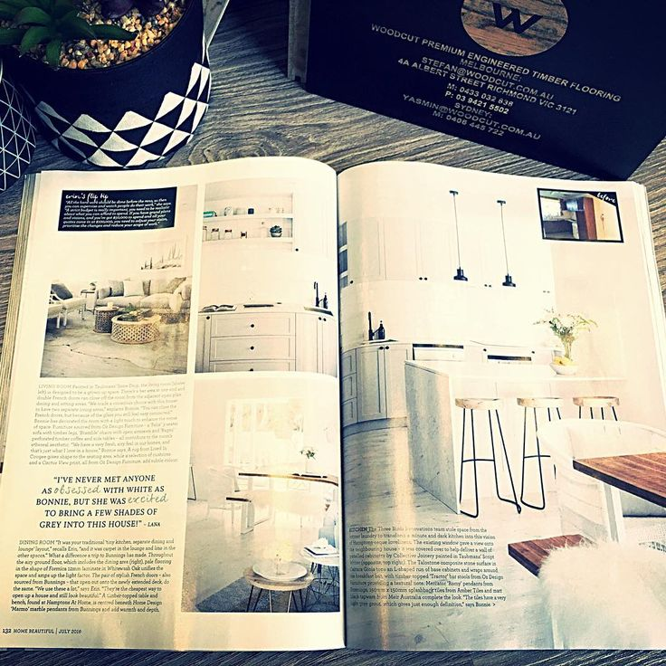 The team at Meir are very proud to be featured in this month's edition of @homebeautiful magazine! Pick up your copy today and see the complete transformation of this two-story, weatherboard home which is completely unrecognisable from its former self - all by the very talented ladies at @threebirdsrenovations  Our traditional matte black kitchen mixer adds a touch of class to this beautifully renovated kitchen.  #Meir #Meirblack #Meiraustralia #Blacktapware #Matteblacktapware…