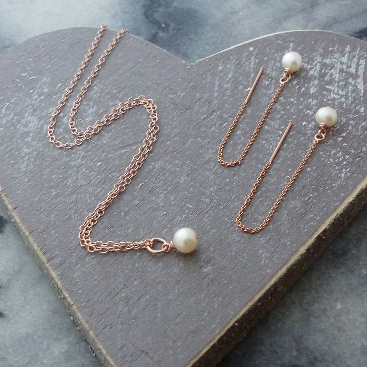 http://www.notonthehighstreet.com/myhartbeading/product/rose-gold-and-aa-pearls-jewellery-set