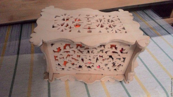 Купить шкатулка - бежевый, шкатулка ручной работы, шкатулка для украшений, деревянная шкатулка, резная шкатулка