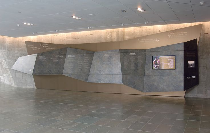 Donor Wall Designs | Museums Exhibits Custom 3D Marketing