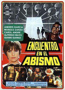 Encuentro en el abismo (1979) Título original: Encuentro en el abismo (España, Italia) Género: Películas > Drama / Fantástico Director: Tonino Ricci. Duración: 88 minutos.
