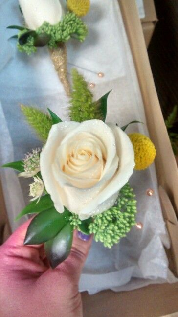 Wedding sedum rose