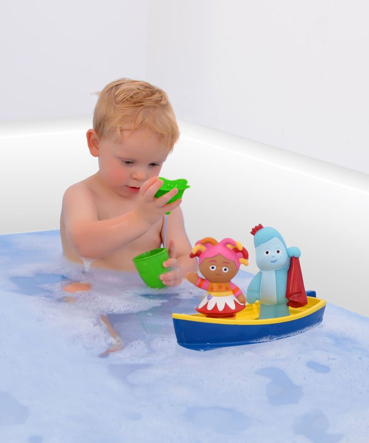 In The Night Garden Iggle Piggle Floaty Boat Play Set