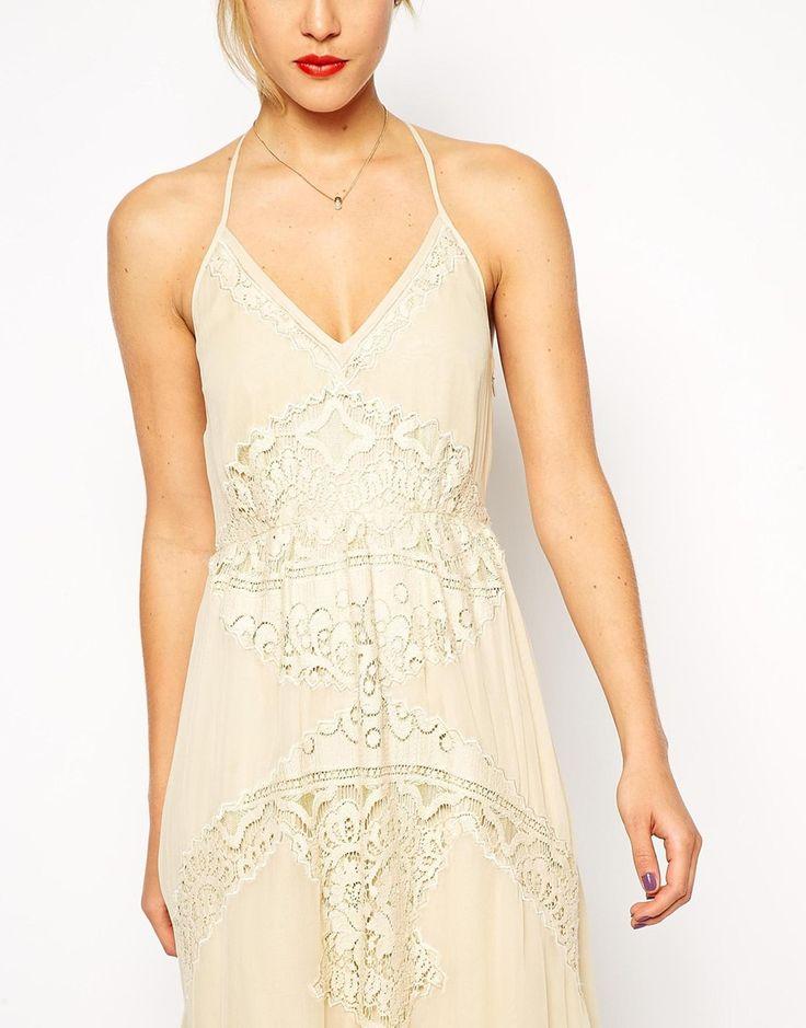 Image 3 ofASOS Lace Insert Maxi Dress