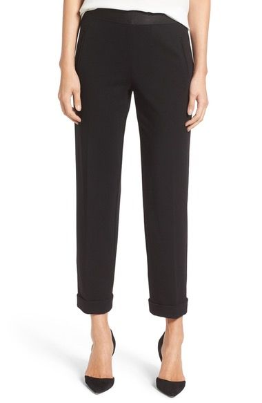 Bailey 44 'Corporate' Crop Stretch Ponte Pants available at #Nordstrom