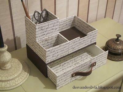 boite a crayon, à papier, à lettre