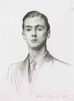 Portrait of John Edward Murray-Smith by John Singer Sargent. Beautiful.